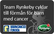 Team Rynkeby till förmån för barn med cancer